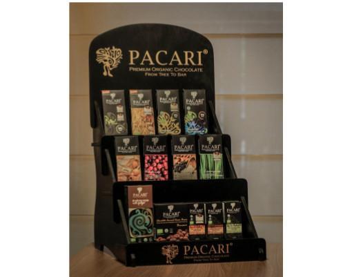 Display Pacari. Todo el catálogo de las mejores barras de Pacari