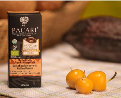 Golden berry. Pacari. Medalla de oro, caja 12 unidades Premium