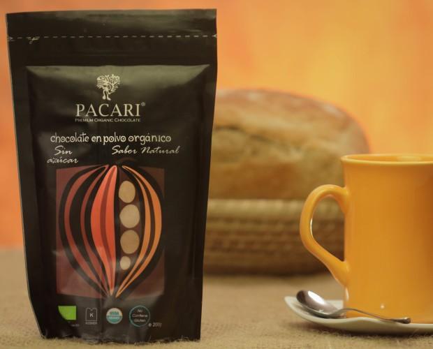 Cacao en Polvo. Puro cacao natural y orgánico