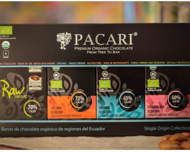 Pack - Raw. Pack del mejor chocolate. Pacari