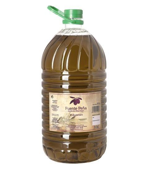 Aceite de oliva virgen. Garrafa 5l