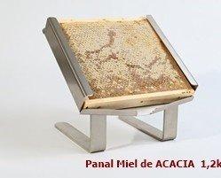 Panal de miel de Acacia. PANAL MIEL DE ACACIA TAMAÑO FAMILIAR 1,2KG