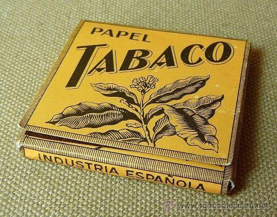Papel Tabaco. Uno de nuestros productos más característicos