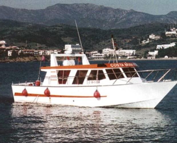Barco de pesca. Barco de pesca