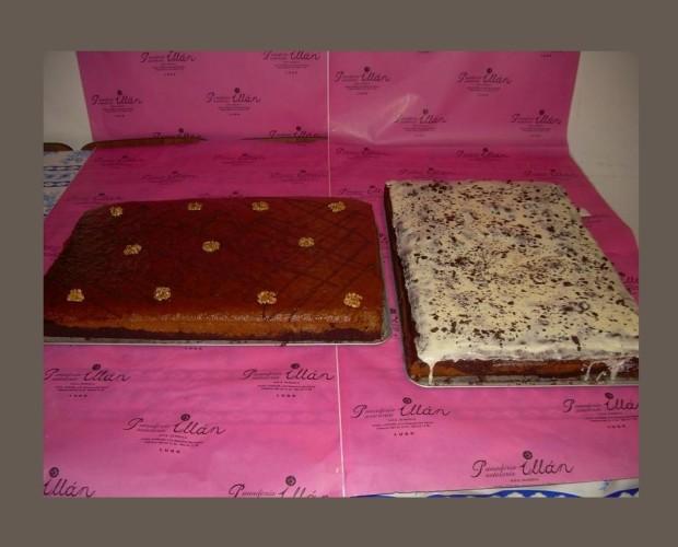 Pastelería. También elaboramos diferentes tipos de tartas, pasteles, mini pasteles