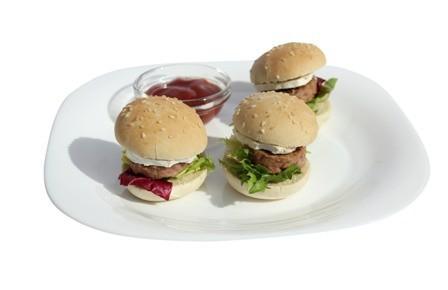 Pan. Pan de Hamburguesa. Mini  pan de hamburguesa, mini hot dog's, mini pita