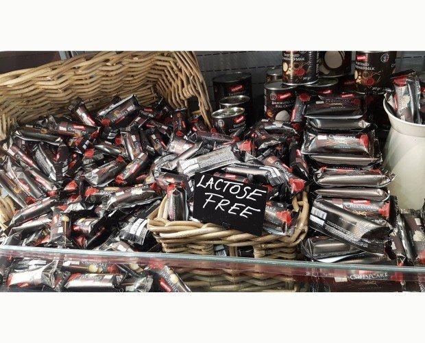 Chessecake de chocolate. Libre de lactosa