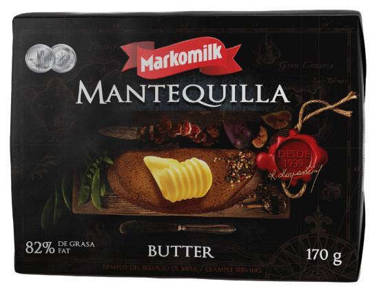 Mantequilla. De la mejor calidad