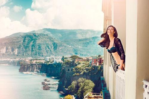 Colección Otoño 2013. Lencería inspirada en la bella Italia