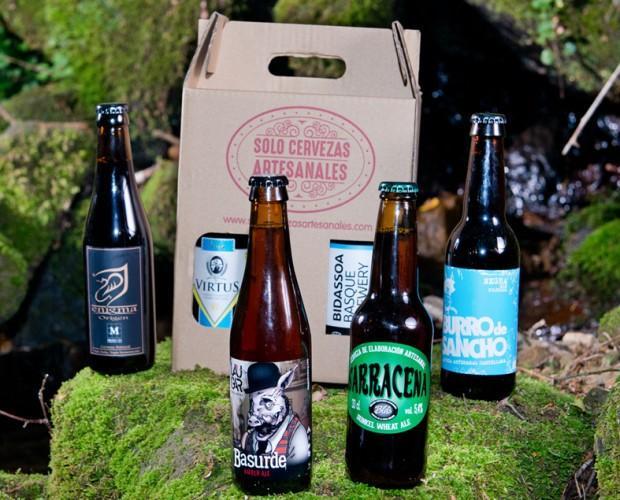 Cervezas artesanales. Variedad de cervezas