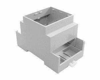 Cajas sin techo. Ajuste a presión de diseño modular para facilidad de montaje