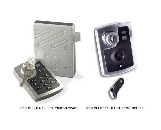 Cerradura Electrónica Modular. Ofrece flexibilidad combinada con una apariencia elegante y atractiva