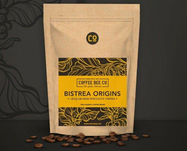 Bistrea Origins. Café Specialty de origen exótico, con puntuación SCA superior a 85 puntos.