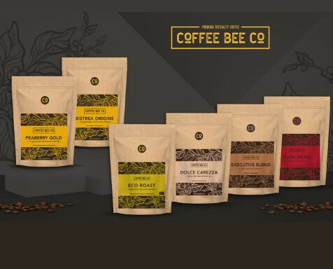 Colecciones Coffee Bee Co.. Colecciones Blend y Golden Collection