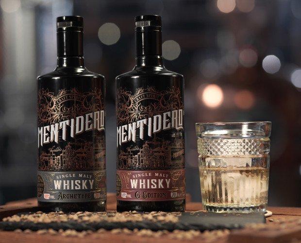 Licores. Whisky. Mentidero Whisky es una edición limitada de whisky 100% craft. SINGLE MALT.