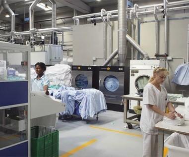 Lavandería Industrial. Servicios de lavandería