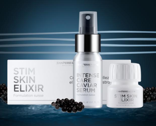 Skin Twincosmetic set. Nutricosmética bebible y serum caviar en un pack