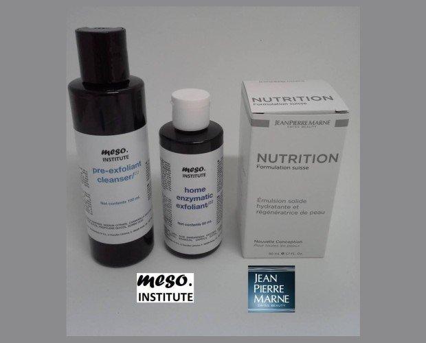 Variedad de productos. Hidrantes y regenerantes de la piel