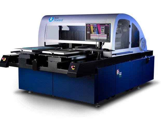Kornit storm. La impresora industrial diseñada para ofrecer velocidad y volumen.
