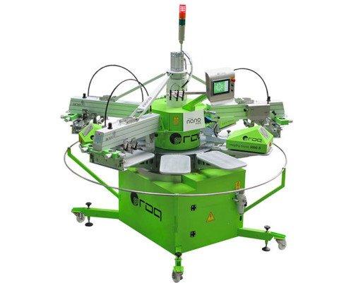 Roqprint Nano. Máquina de impresión automática para tamaños pequeños.