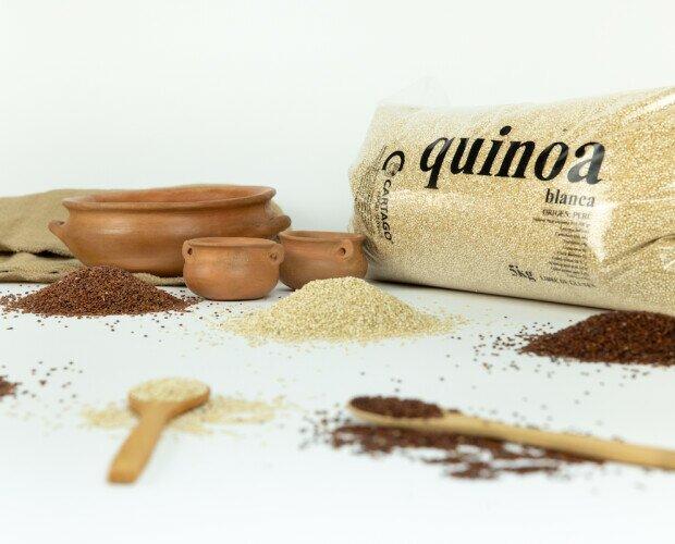 Quinoa. Ofrecemos Quinoa Blanca, Roja y Negra en formato convencional y BIO-Ecológico.