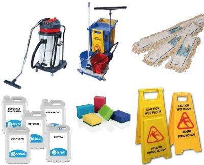 Productos de limpieza. Lavavajillas, Abrillantadores, Desengrasantes, Jabones y geles, etc.