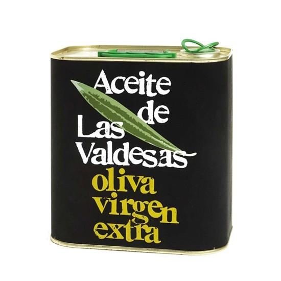 Lata de aceite. Aceite de Oliva Virgen Extra
