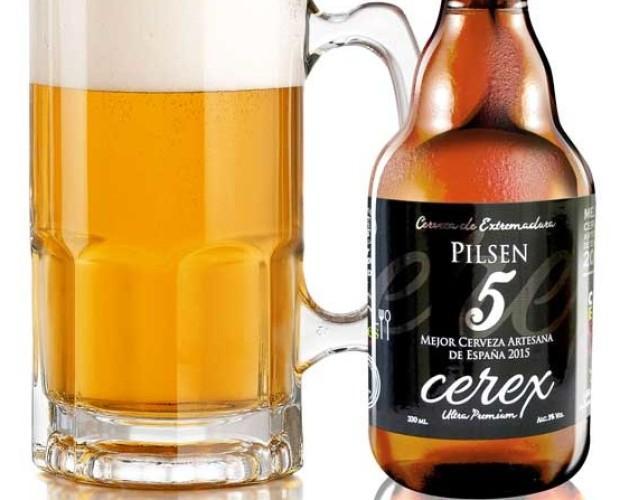 Cerex Pilsen 33 cl.. Mejor Cerveza Artesana de España 2015