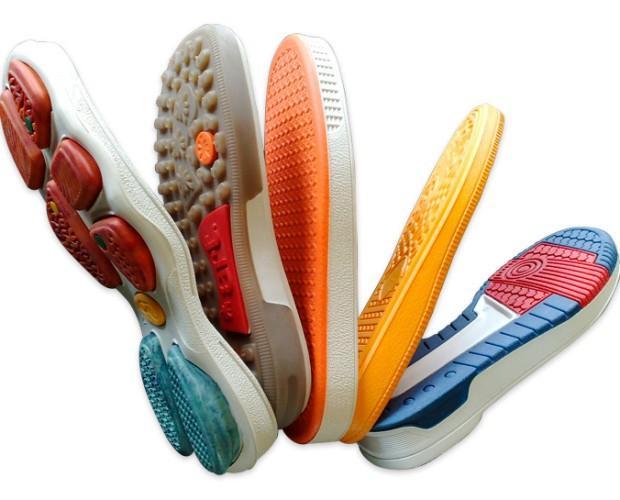 Materiales para el Calzado. Suelas de Caucho. Especiales para calzado