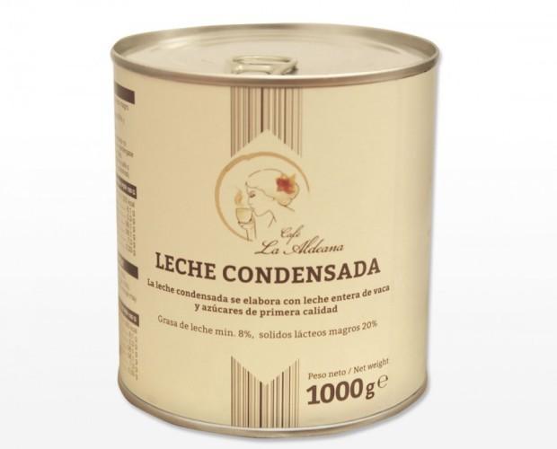Leche Condensada.Fabricada con con leche entera de vaca y azúcares