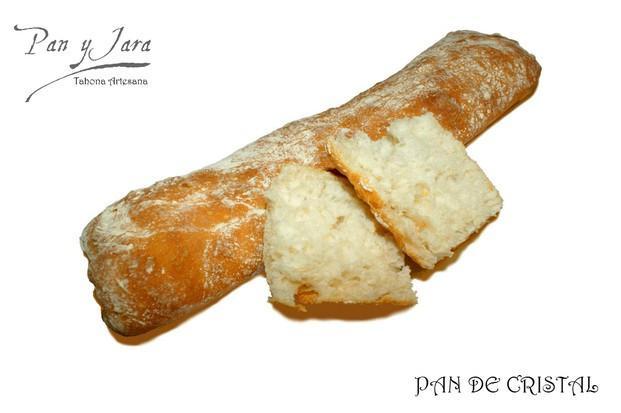 Pan de Cristal. Corteza fina y crujiente, miga de un sabor exquisito