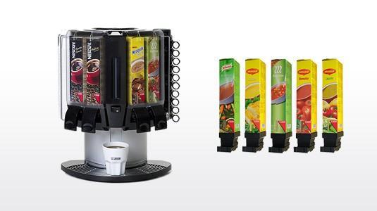 Cafeteras. Máquina Jedexpress y cartuchos