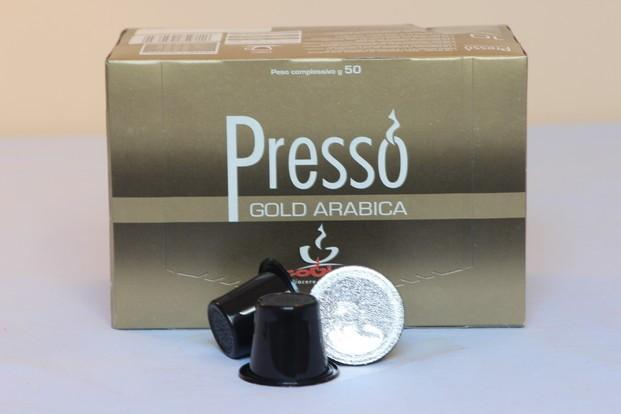 Presso. Cápsulas compatibles con sistema Nespresso