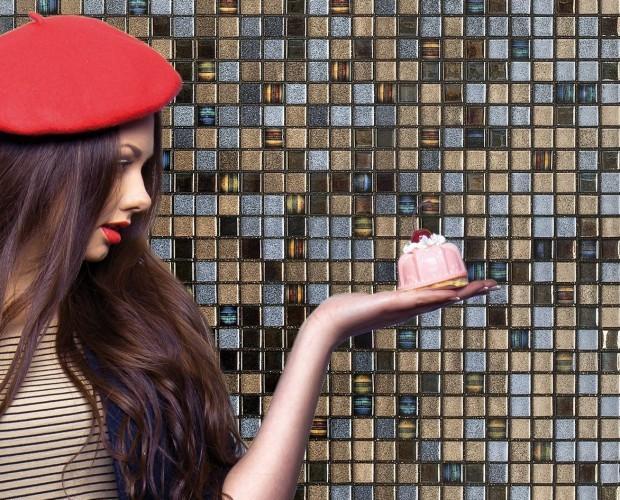 Mosaico.Disponemos de una gran gama de mosaicos de vidrio
