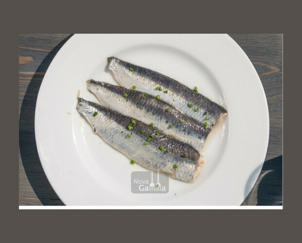 Sardina Ahumada. Lomos jugosos de Sardina ahumada y curada en sal