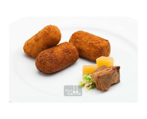 Croquetas de Cocido. Elaboradas artesanalmente con las carnes y verduras