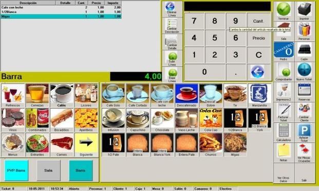 Software para TPV hostelería. Software para TPV hostelería