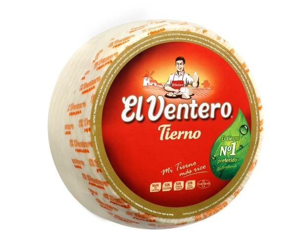 Queso El Ventero Tierno. Queso tierno y delicioso