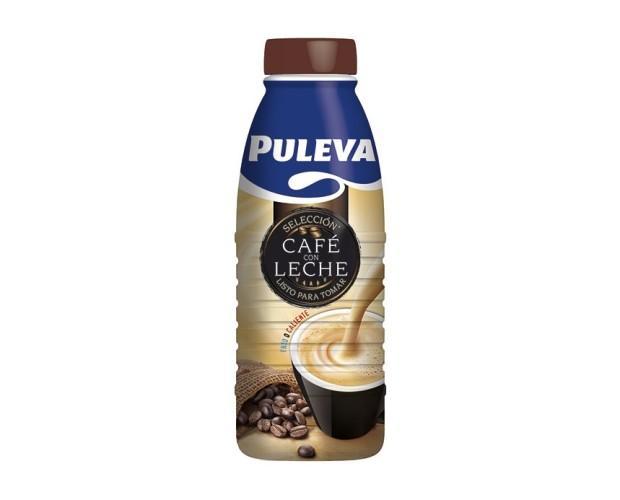 Puleva Cafe con leche. Disfrútala tanto fría como caliente.