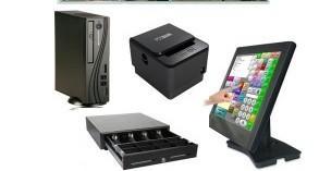 Pack TPV. TPV, monitor, impresora, caja portamonedas