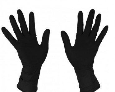 Guantes de látex color negro. Guantes de la mejor calidad a precios muy competitivos