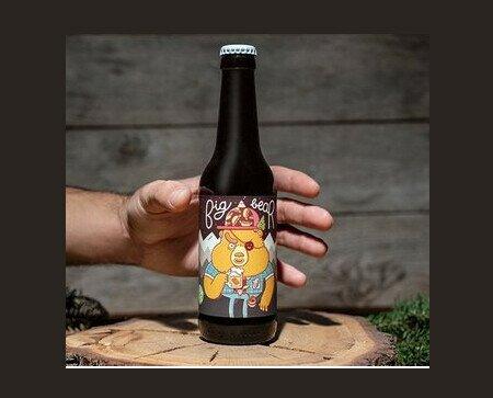 Big Bear. Es una cerveza clásica de estilo Pale Ale. Muy al estilo inglés