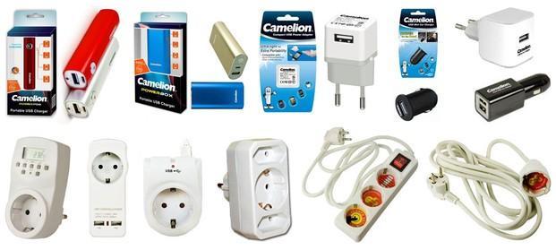 Accesorios. Accesorios de electricidad