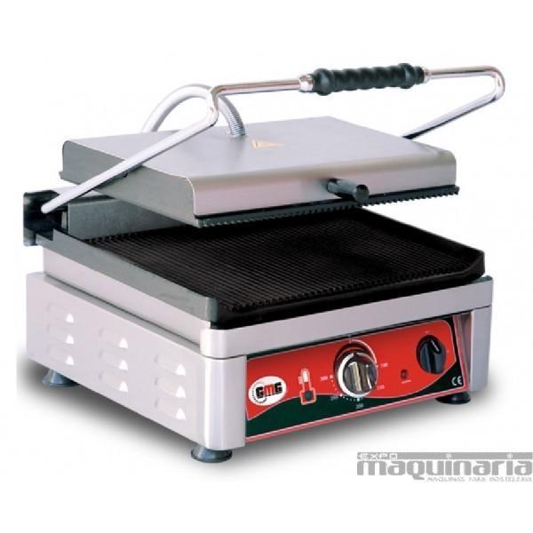 Plancha grill. Plancha grill eléctrica KG2735E, de acero inox