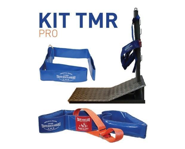 Kit TMR pro. Tirante Musculador RF, Tarima Grande Evo1, Dispositivo Helper, Folleto con ejercicios