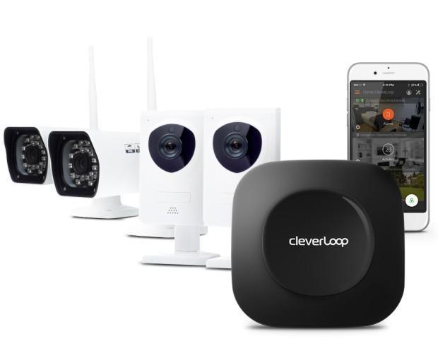 CleverLoop 4 cam. Todo en sistemas de videovigilancia