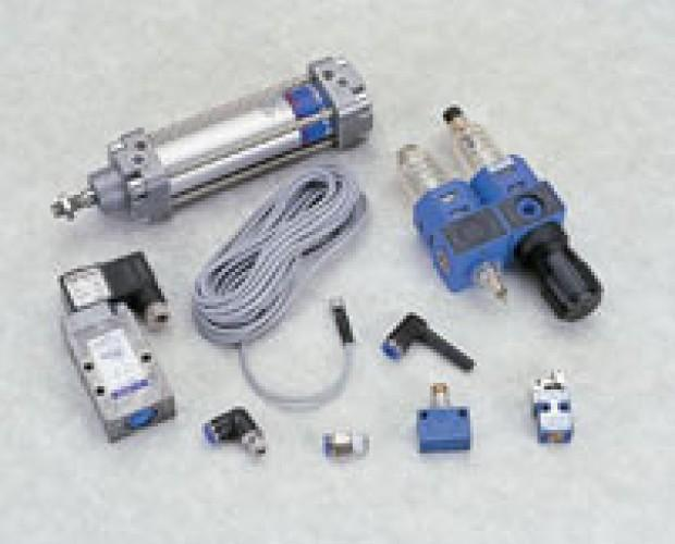 Componentes de Válvulas.herramientas de neumática