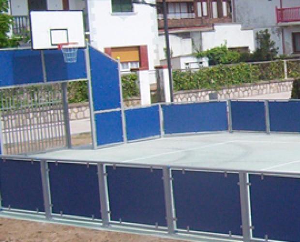 pistas para deportes. Realizamos pistas multideportivas