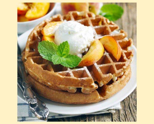 Waffle. Delicioso sabor