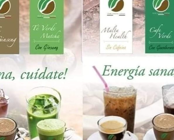 Tés y cafés energéticos. Excelente calidad